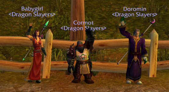 Screenshot of the Guild Members